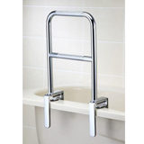 YCH-302 Bath Safety Two level chrome bathtub grab rail- Grab Bar