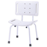 YCH-01S06H01 Bath Safety Steel bath bench w/back- Bath Seat