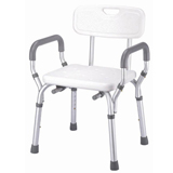 V Bath Safety Quick-released shower chair w/back- Bath Seat