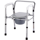 YCH-903 Bath Safety Folding steel commode- Commode