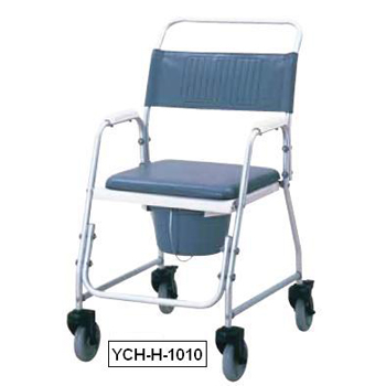 YCH-H-1010 Bath Safety Deluxe aluminum shower commode- Commode