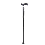 YCH-C8024 Walking Aids Folding Walking Stick w/ABS Plastic handle-Canes