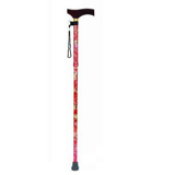 YCH-C8098 Walking Aids Folding Floral Walking Stick-Canes