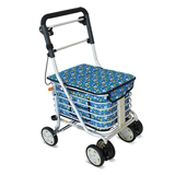 YCH-006B Walking Aid Aluminum Foldable Shopping Cart