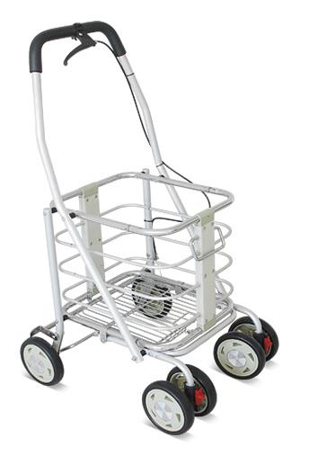 YCH-007A Walking Aid Standard Aluminum Foldable Shopping Cart (with brake)