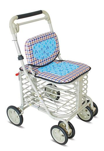 YCH-001B Walking Aid Steel Shopping Cart