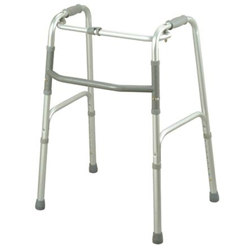 YCH-7011 Walking Aid One Button Folding Walker- Walker