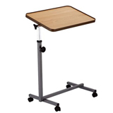 YCH-1803 Hospital Furniture H-base Overebed Table