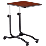 YCH-1802 Hospital Furniture Tilt Top Overebed Table