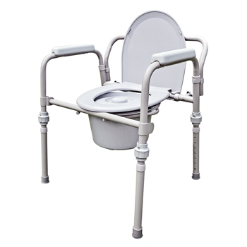 YCH-2110KDR Bath Safety Folding commode- Commode