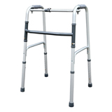 "YCH-1101 Walking Aid 1"" One Button Folding Walker- Walker"