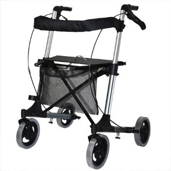 YCH-9102L Walking Aid X Folding Rollator Large Size(Heavy Duty) - Rollator