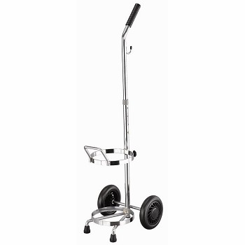 YCH-1211 Hospital Furniture Oxygen cart (190MM)- Rack with Wheels