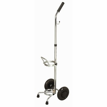 YCH-1210 Hospital Furniture Oxygen cart- Rack with Wheels