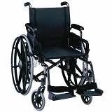YCH-09W13G01 Steel Foldable Wheelchair- Wheelchairs