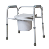 YCH-01C01L01 Bath Safety Steel Commode- Commode
