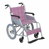 YCH-T-1001 Aluminum Folding Transport Chair-Wheelchairs