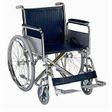 YCH-09W11G01 Deluxe Steel Wheelchair-Wheelchairs